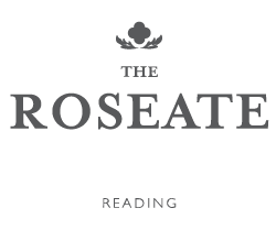 The Roseate Reading's logo